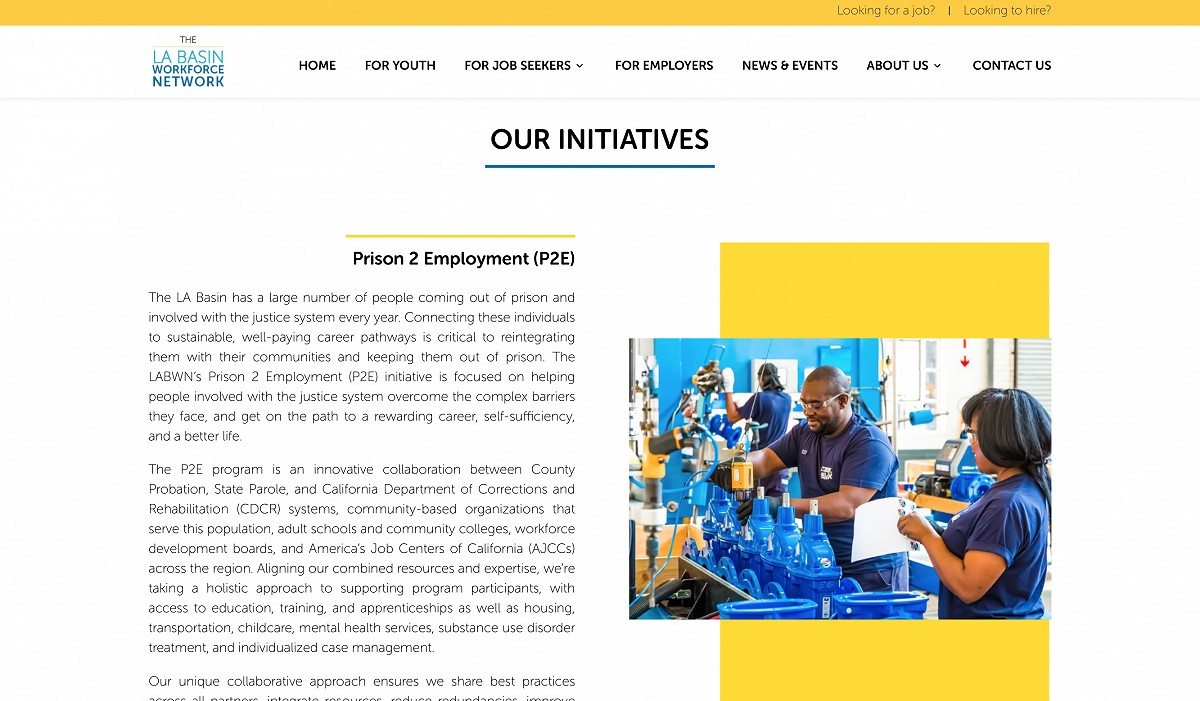 Our initiatives page